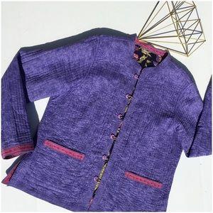 Jackets & Blazers - Light Cotton Reversible Jacket